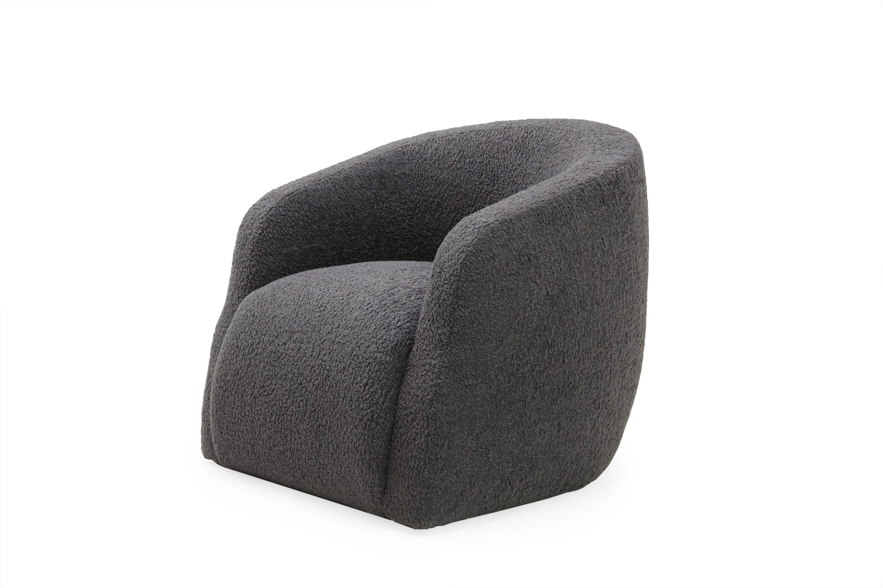 Verellen Theo Swivel Club Chair In Aires Charcoal | Fall 2017 Market In Charcoal Swivel Chairs (View 20 of 25)