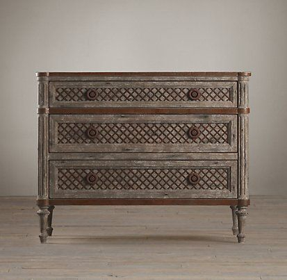 Vienne French Four-Poster Bed Burnt Oak