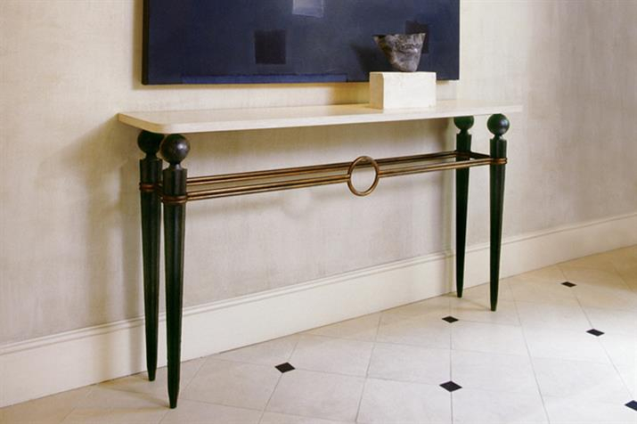 Villiers.co.uk with Latest Roman Metal Top Console Tables