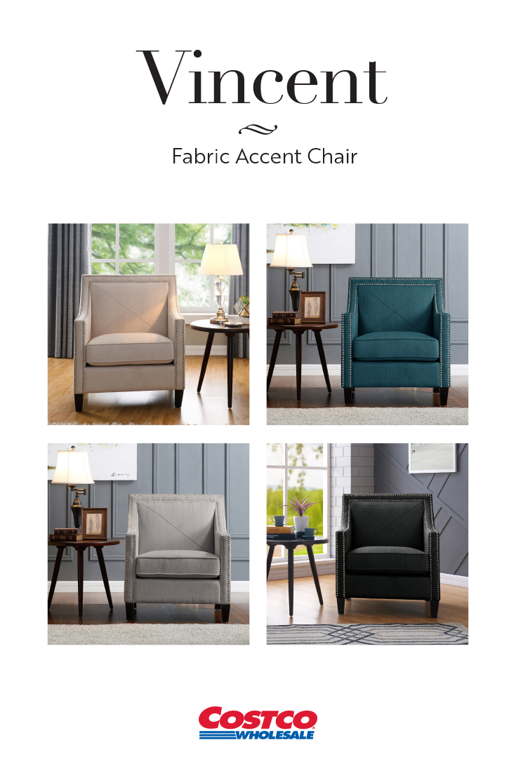 Vincent Fabric Accent Chairs Are Sleek And Comfortable With High Throughout Nichol Swivel Accent Chairs (Image 25 of 25)