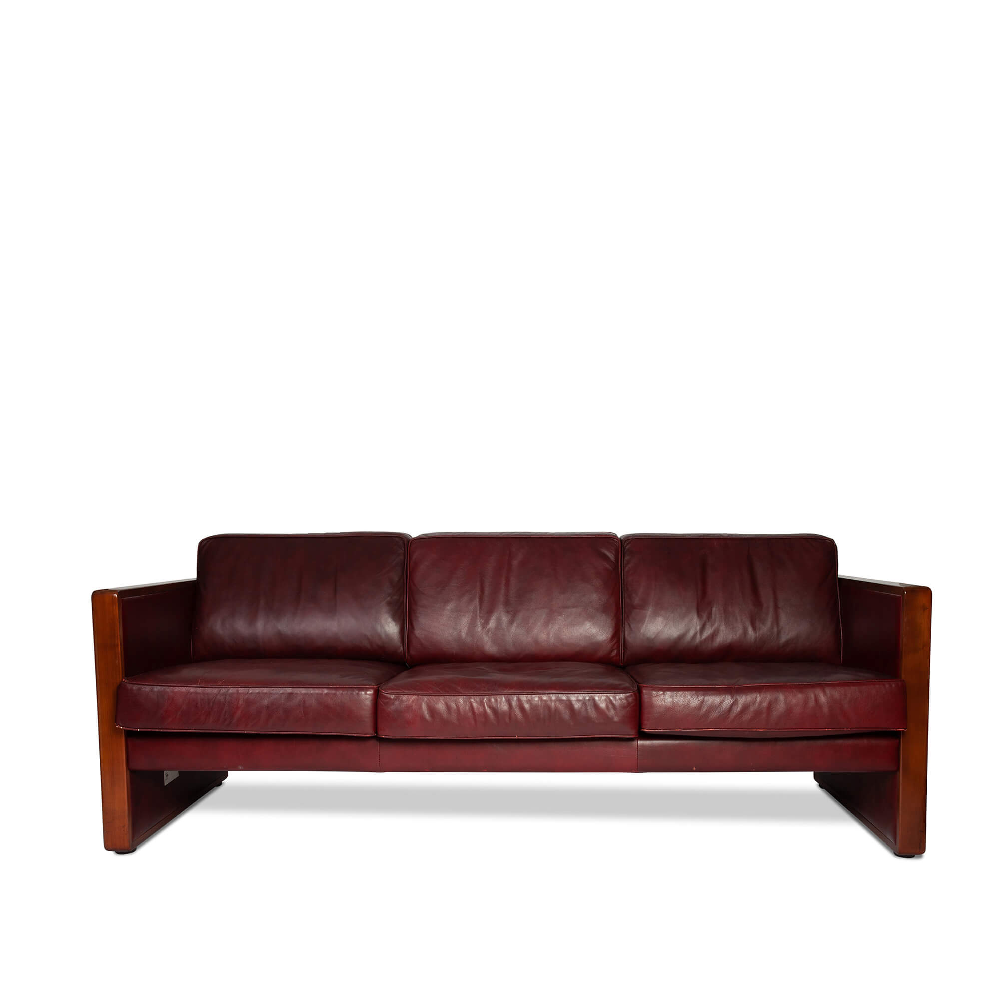 Vintage Walter Knoll Leather Sofa For Walter Leather Sofa Chairs (View 6 of 25)