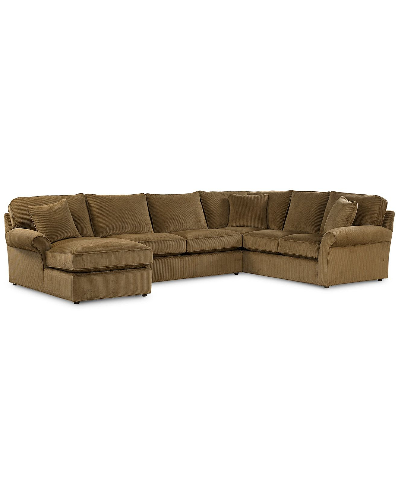 Virtual Fabric Sectional Sofa, 3 Piece (Chaise, Loveseat And Left With Liv Arm Sofa Chairs (View 22 of 25)