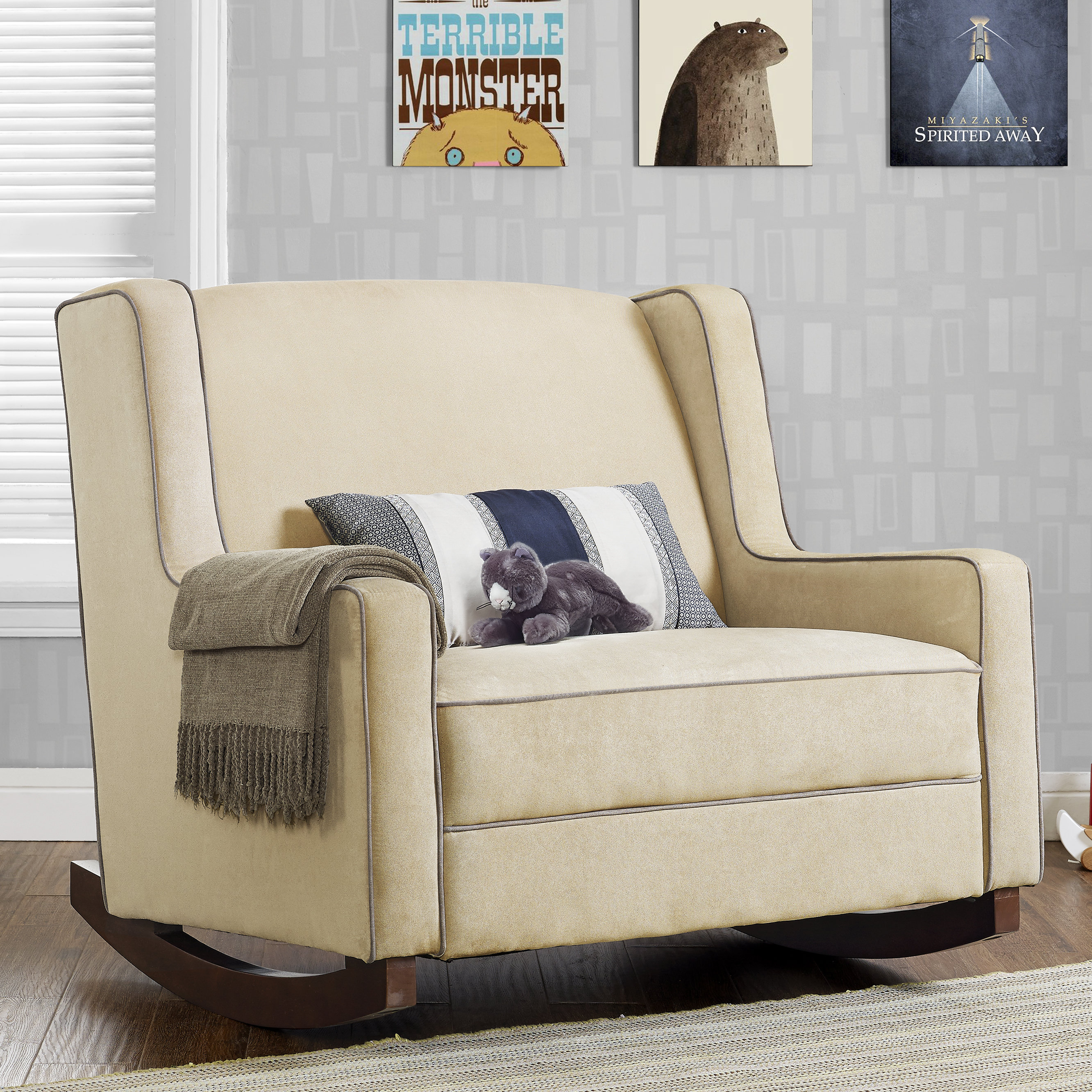 Viv + Rae Mari Rocker | Wayfair Regarding Mari Swivel Glider Recliners (View 4 of 25)