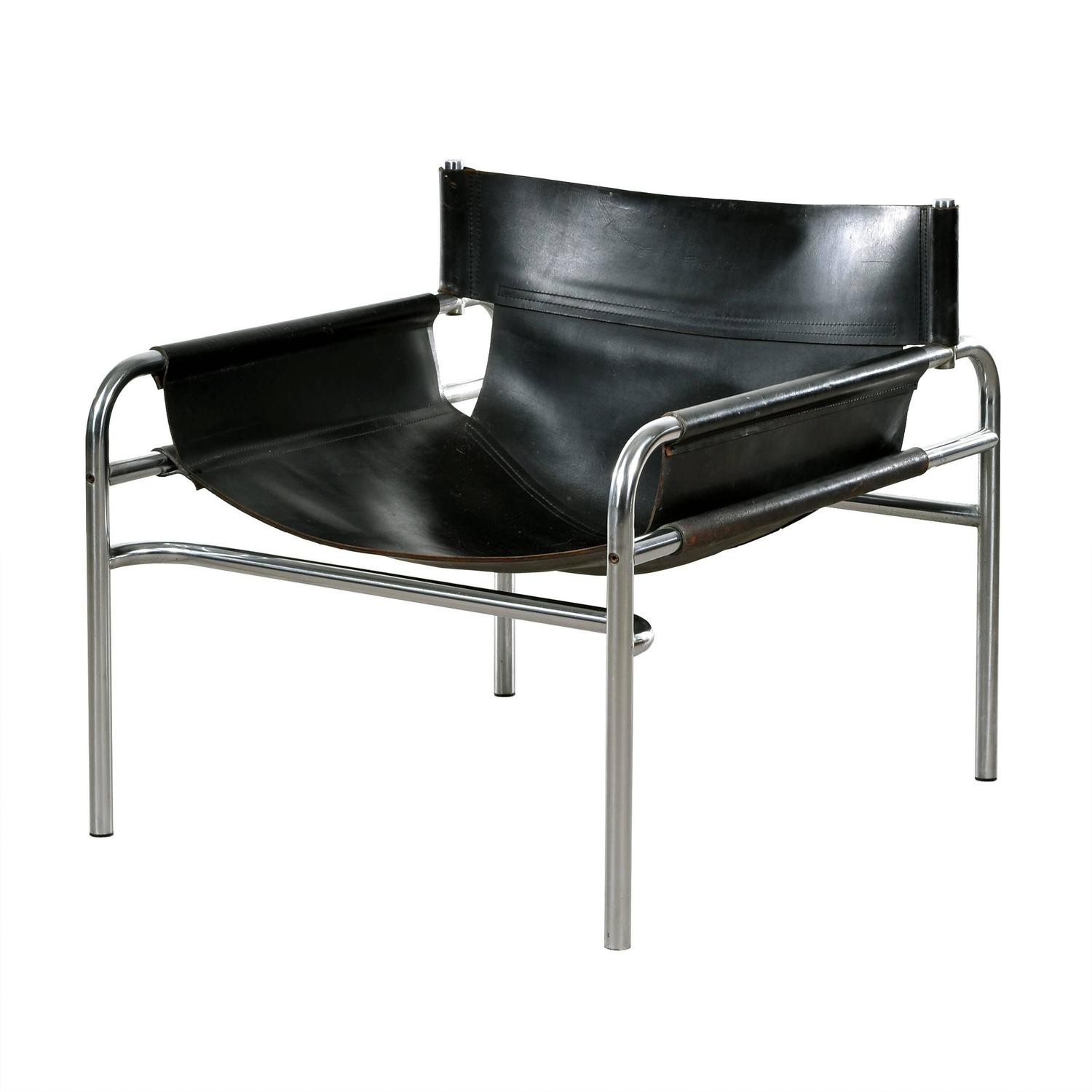 Walter Antonis Lounge Chair Model 250 For Spectrum, Netherlands For In Walter Leather Sofa Chairs (Image 12 of 25)
