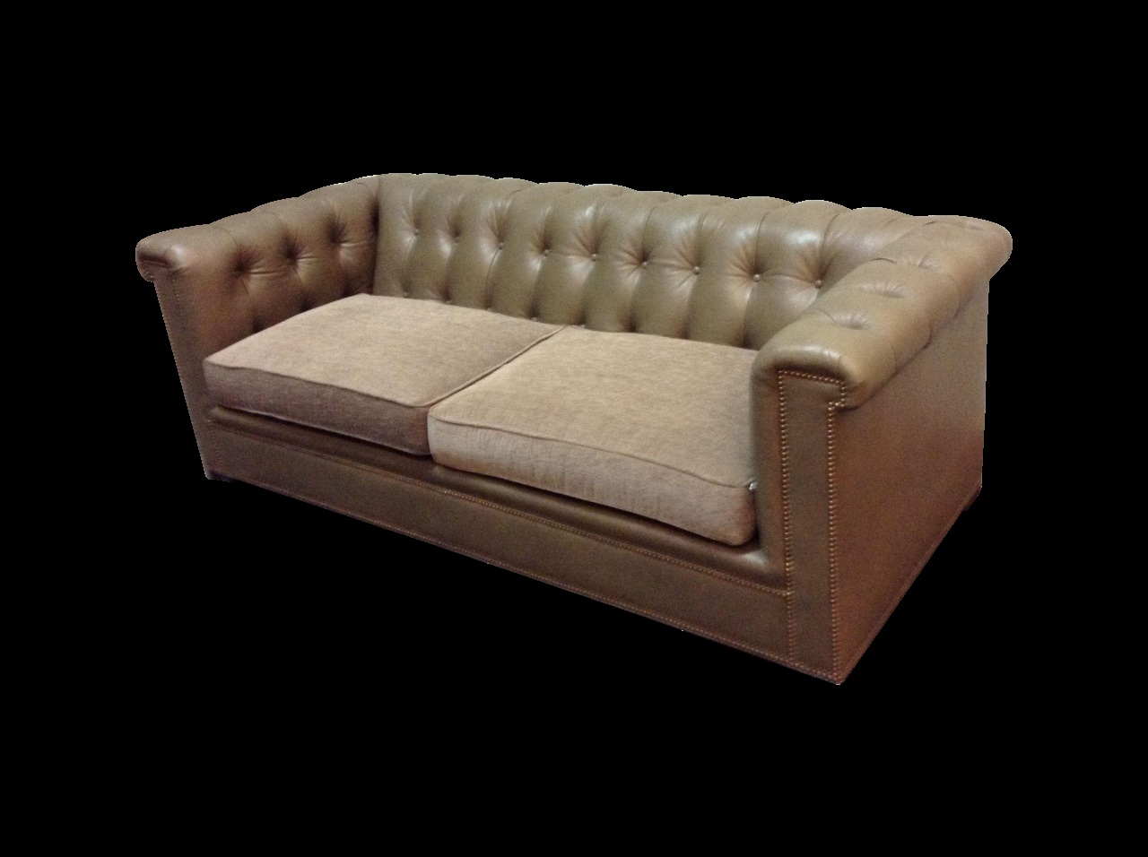 Walter Leather Sofa Fresh Hickory Chair Kent Tufted Leather Sofa On In Walter Leather Sofa Chairs (Image 23 of 25)