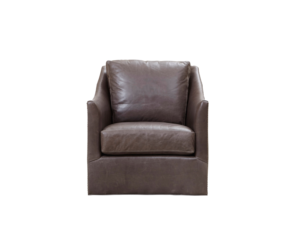 Walter Swivel Chair – Southern Furniture Company Inside Walter Leather Sofa Chairs (Image 25 of 25)