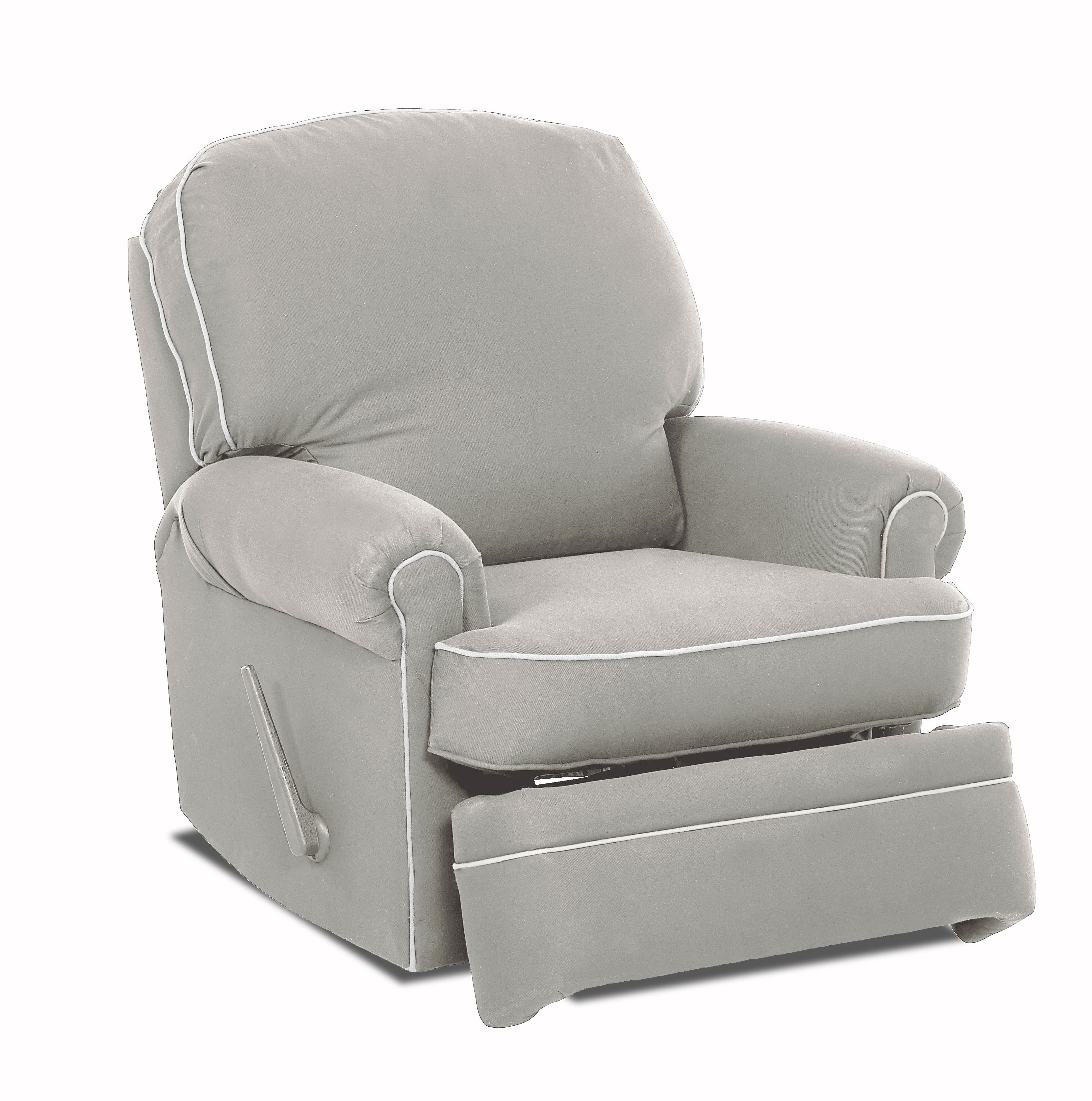 Wayfair Custom Upholstery™ Stanford Glider Swivel Recliner | Wayfair Throughout Katrina Blue Swivel Glider Chairs (View 2 of 25)