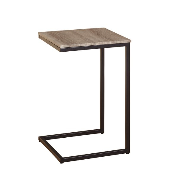 Wayfair In Latest Mix Leather Imprint Metal Frame Console Tables (View 4 of 25)