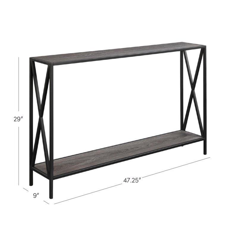 Wayfair Regarding Preferred Frame Console Tables (View 6 of 25)