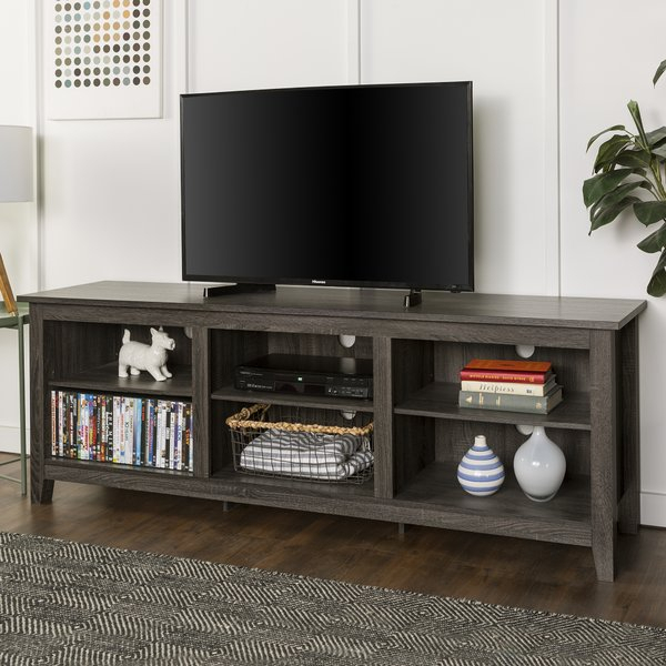 Wayfair With 2018 Edwin Grey 64 Inch Tv Stands (View 2 of 25)