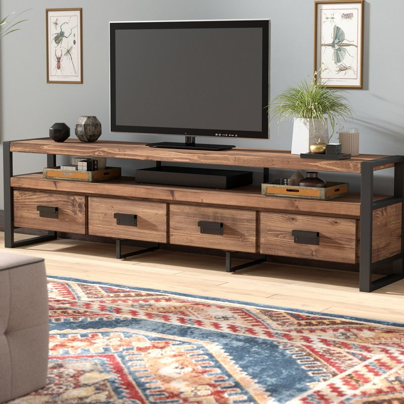 Wayfair Within Most Up To Date Walton Grey 60 Inch Tv Stands (View 14 of 25)