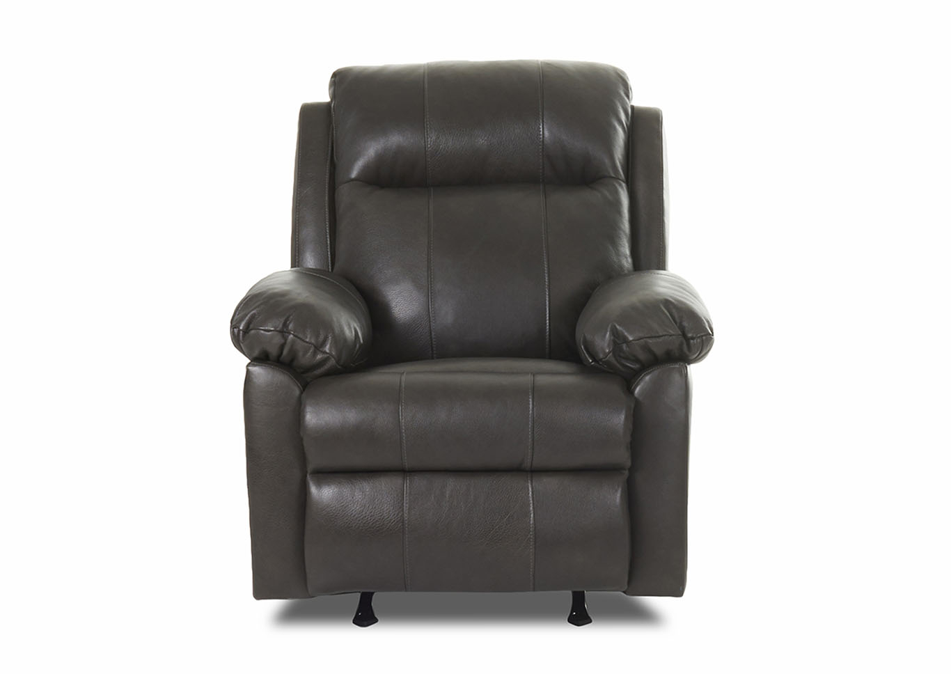 Weiss Furniture Amari Reclining Rocking Leather & Vinyl Chair Throughout Amari Swivel Accent Chairs (View 18 of 25)