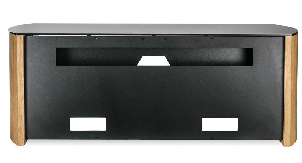 Well Known Alphason Tv Cabinet Inside Alphason Finewoods Oak Tv Stand With Soundbar Shelf (Image 22 of 25)