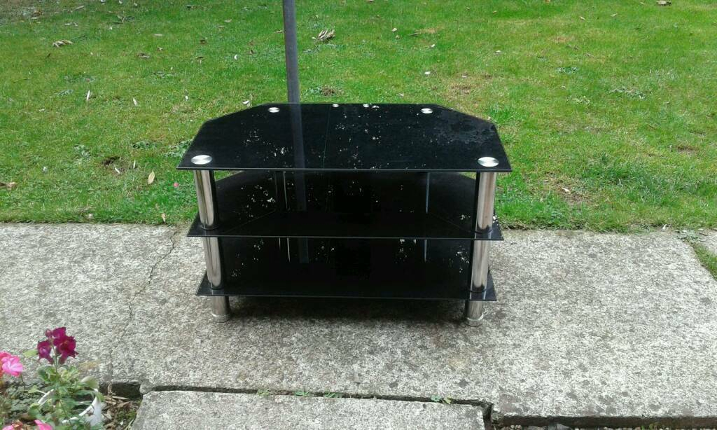 Well Known Black Gloss Tv Stands Pertaining To Black Gloss Tv Stand (Image 22 of 25)