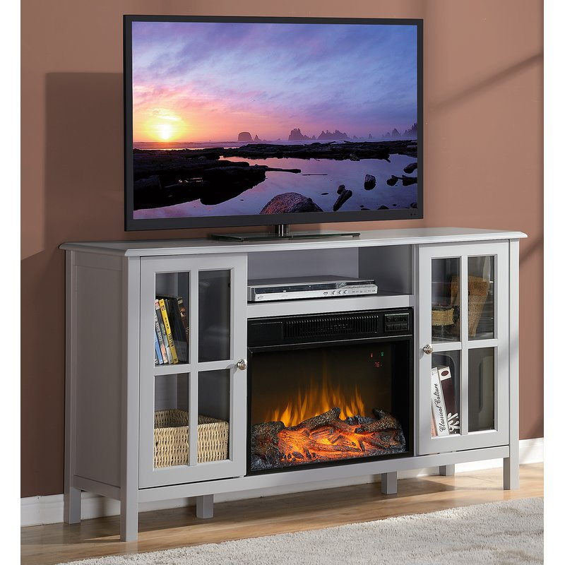 """Well Known Caden 63 Inch Tv Stands Within Homestar Langley Tv Stand For Tvs Up To 60"""" With Fireplace & Reviews (Image 25 of 25)"""