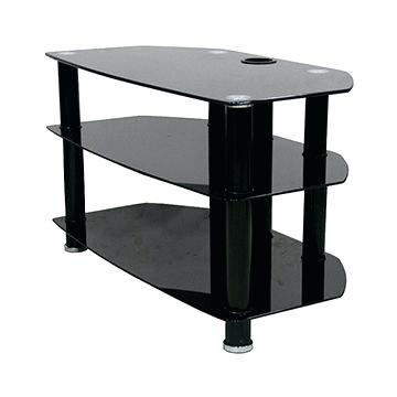 Well Known Cantilever Glass Tv Stand Regarding Glass Tv Stand – Inloveptc (Image 25 of 25)