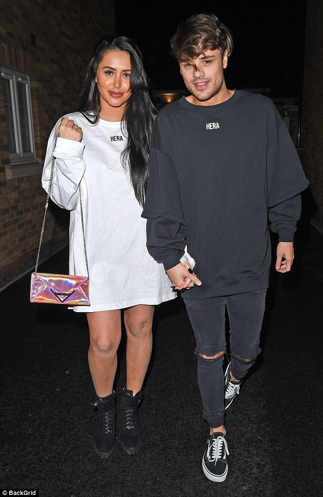 Well Known Casey Grey 66 Inch Tv Stands Throughout Marnie Simpson Steps Out With Casey Johnson After Cheating Claims (Image 23 of 25)