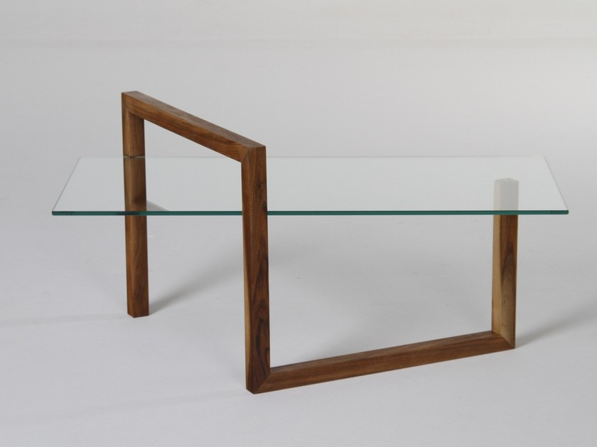 Well Known Era Glass Console Tables For Rectangular Wood And Glass Coffee Table Sentioera Design Mario (Image 24 of 25)