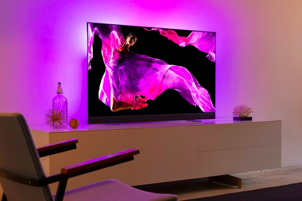 Well Known Forma 65 Inch Tv Stands Throughout Philips Oled+ 903 Tv Review – Pocket Lint (View 14 of 25)