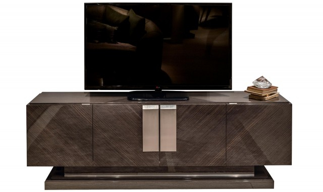Well Known High Gloss Tv Cabinets Inside Marbella – Oak Tv Stand Fishpools (View 18 of 25)