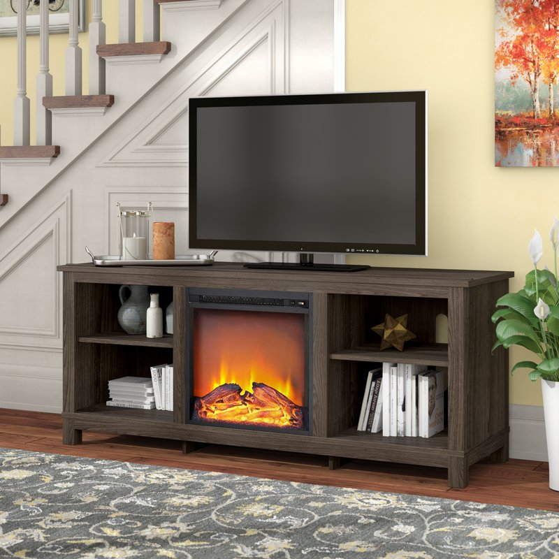"Well Known Laurent 60 Inch Tv Stands Intended For Alcott Hill Gaither Tv Stand For Tvs Up To 60"" With Fireplace (View 19 of 25)"