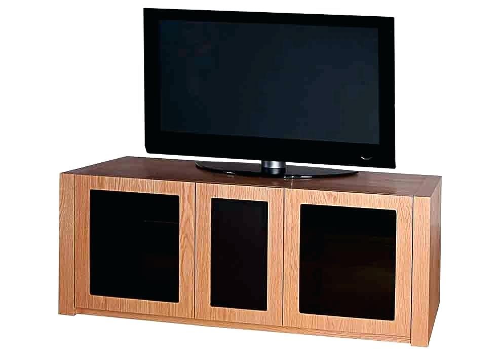 Well Known Lockable Tv Stands With Cabinet Tv Stand Midtown Concept Mid Century 2 Cabinet Stand Corner (Image 22 of 25)