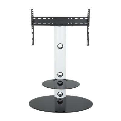 Well Known Oval White Tv Stand Inside Avf – White – Tv Stands – Living Room Furniture – The Home Depot (Image 20 of 25)