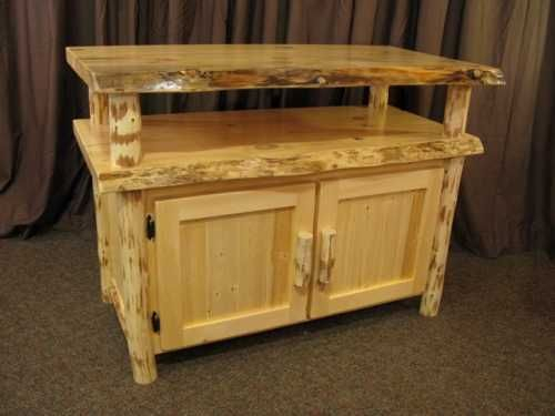 Well Known Pine Tv Stands Inside Live Edge Pine Tv Stand (View 5 of 25)
