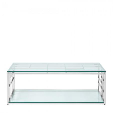 Well Known Remi Console Tables Inside Remi Stainless Steel Rectangle Coffee Table (Image 24 of 25)