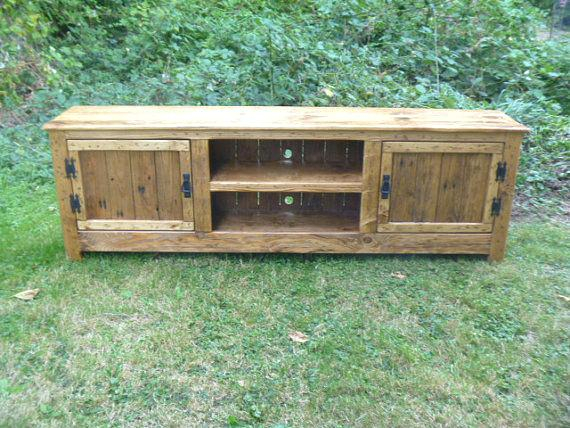 Well Known Rustic Furniture Tv Stands Intended For Rustic Furniture Tv Stands Pallet Stand Cabinet Sideboard Reclaimed (Image 22 of 25)