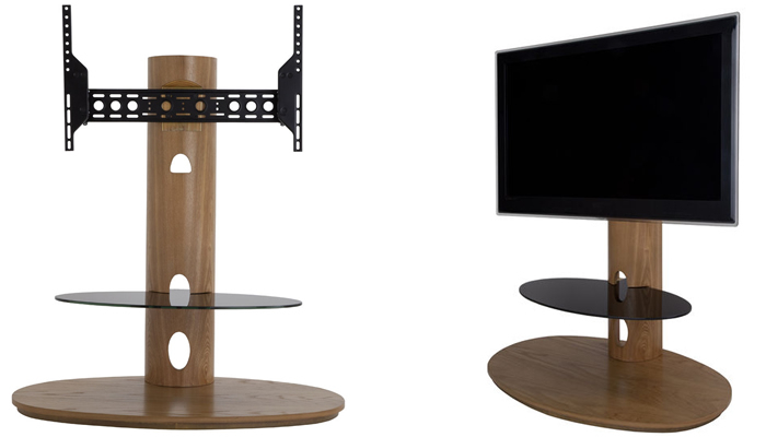 Well Known Slim Tv Stands Regarding Top 10 Best Tv Stands With Mount Brackets (View 10 of 25)