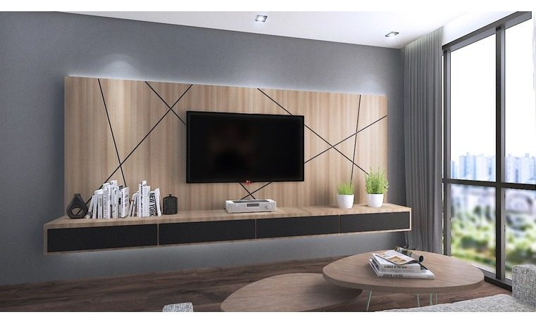 Well Known Wall Mounted Tv Racks Within 15 Tv Cabinet Designs That Will Make Your Living Room Ultra Stylish (View 25 of 25)