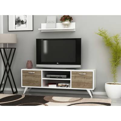 "Well Known Walton 60 Inch Tv Stands Inside Beachcrest Home Josie Tv Stand For Tvs Up To 55"" & Reviews (View 9 of 25)"