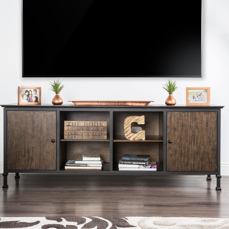 "Well Known Walton Grey 72 Inch Tv Stands Intended For 17 Stories Johntai Tv Stand For Tvs Up To 72"" & Reviews (View 7 of 25)"