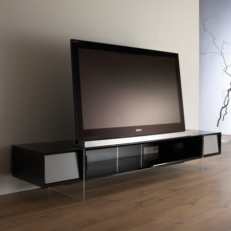 Well Liked Alphason Tv Cabinet Inside Alphason Yat1680B, Yatai Series Premium Tv Stand With Media Storage (View 2 of 25)