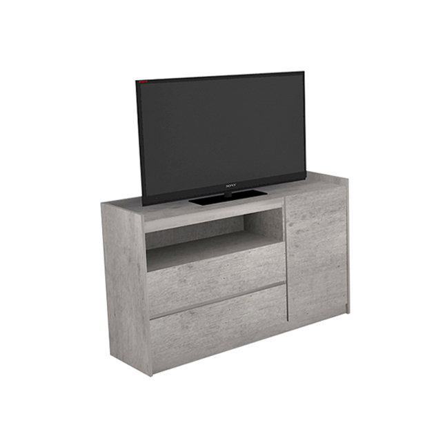 Well Liked Echo Tv Unit Pertaining To V (Image 24 of 25)