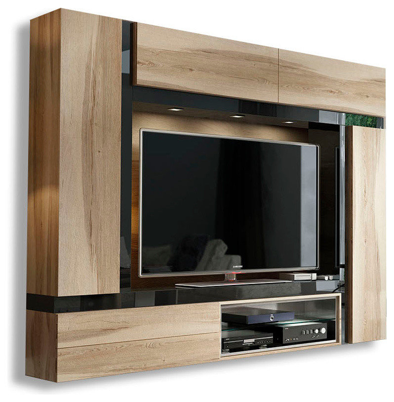 Well Liked Kilian Grey 49 Inch Tv Stands Inside Tv Stands With Hutch You'll Love (View 2 of 25)