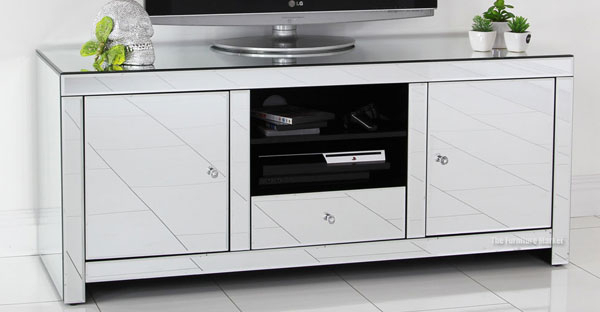 Featured Image of Mirrored Furniture Tv Unit