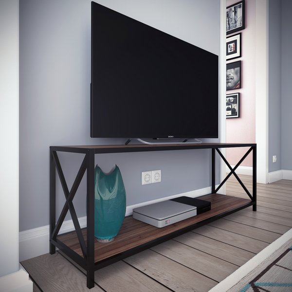 Well Liked Murphy 72 Inch Tv Stands With Metal Frame Tv Stand (Image 25 of 25)
