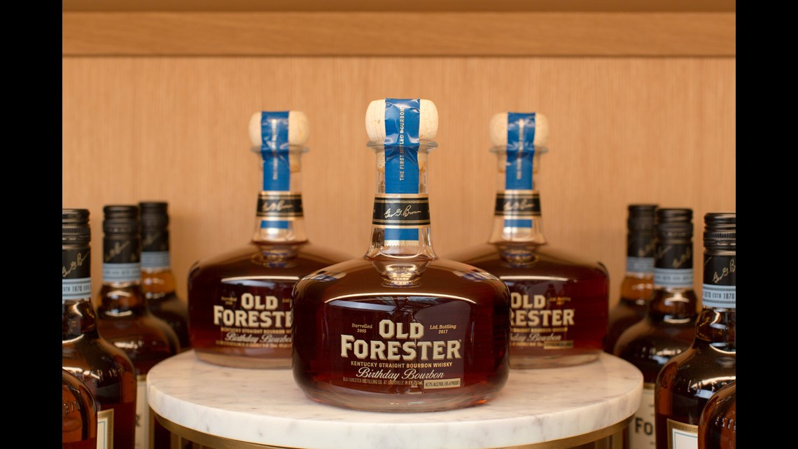 Well Liked Noah Aged Whiskey 66 Inch Tv Stands Within First Look: Old Forester Distillery In Louisville (View 8 of 25)