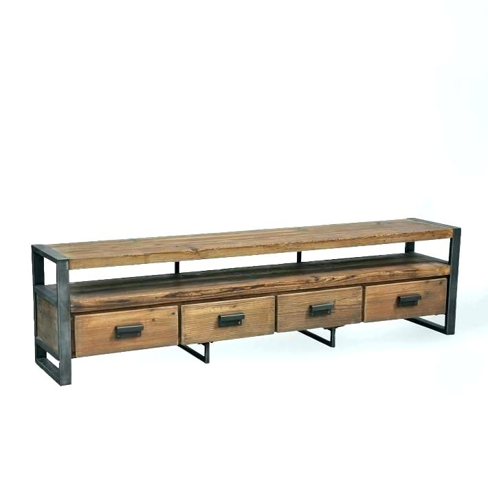 Well Liked Oak & Brass Stacking Media Console Tables Throughout Rustic Corner Media Cabinet Oak Brass Stacking Media Console Office (Image 23 of 25)