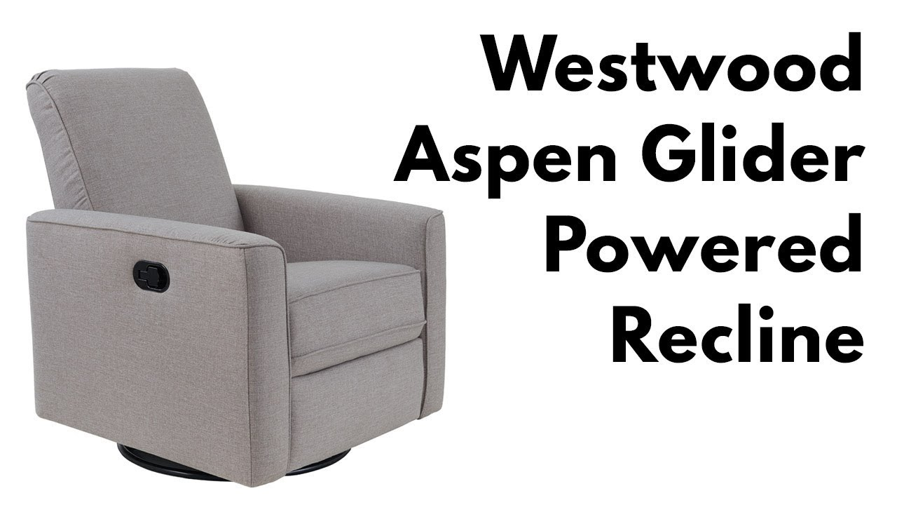 Westwood Aspen Swivel And Power Reclining Glider – Youtube Intended For Aspen Swivel Chairs (View 3 of 25)
