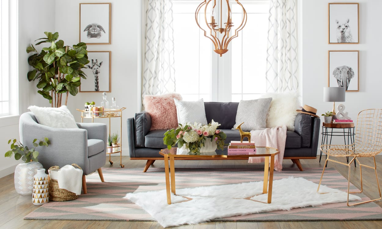 What Your Zodiac Sign Says About Your Decorating Style – Overstock Regarding Aquarius Dark Grey Sofa Chairs (View 20 of 25)