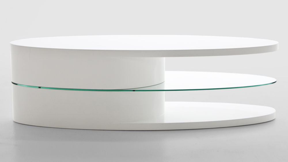 White Gloss Oval Tv Stand Throughout 2018 Oval White Tv Stand (View 4 of 25)