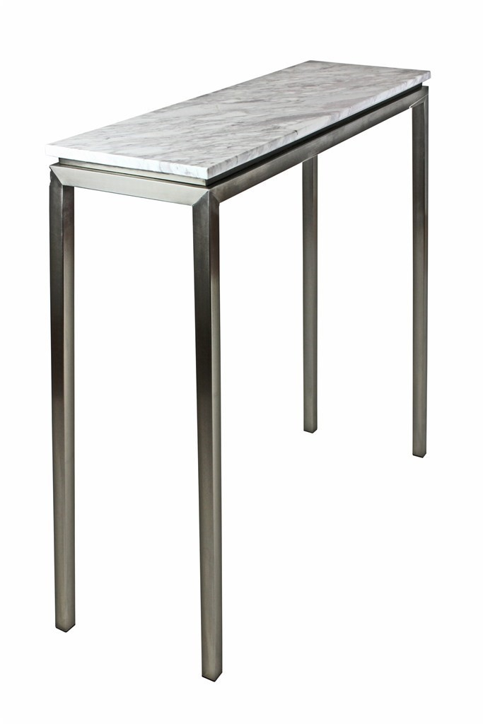 White Marble Console Table Lilia Consoled Tables Whites Antique Inside Best And Newest Elke Marble Console Tables With Brass Base (Image 24 of 25)