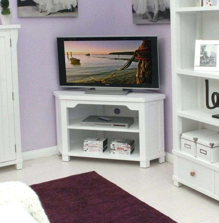 White Tv Stand 55 Inch P77411 Stylish White Corner Stands For Flat In Recent 55 Inch Corner Tv Stands (View 22 of 25)