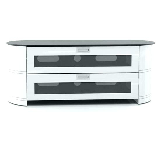 White Tv Stand With Storage Contemporary White Stand With Storage Pertaining To Preferred Oval White Tv Stand (Image 25 of 25)