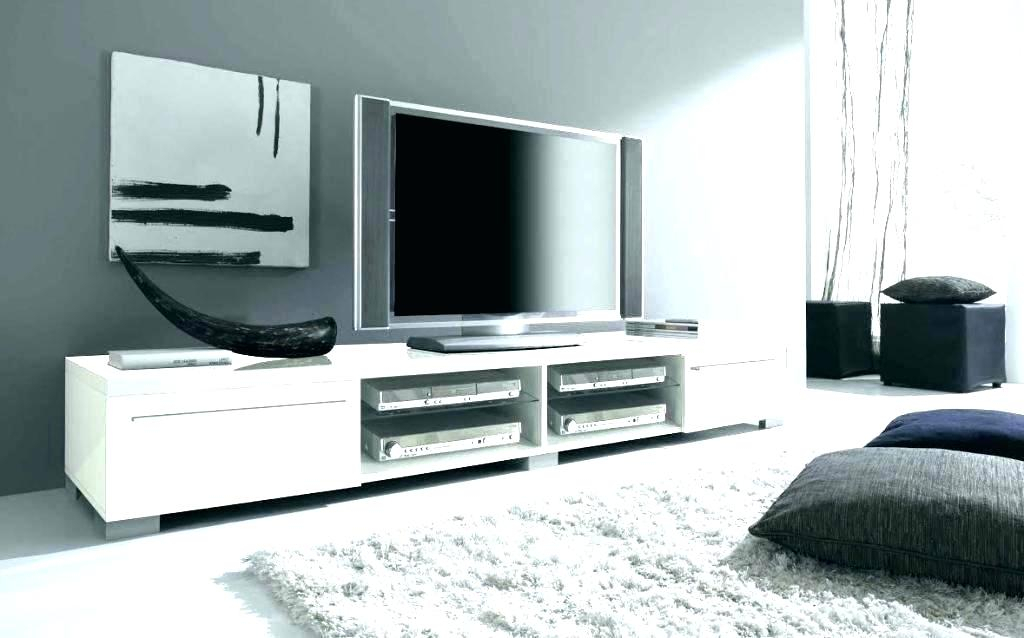 White Tv Stand With Swivel Mount Modern Low Wooden Classic Cabinet With Well Known Modern Low Tv Stands (Image 24 of 25)