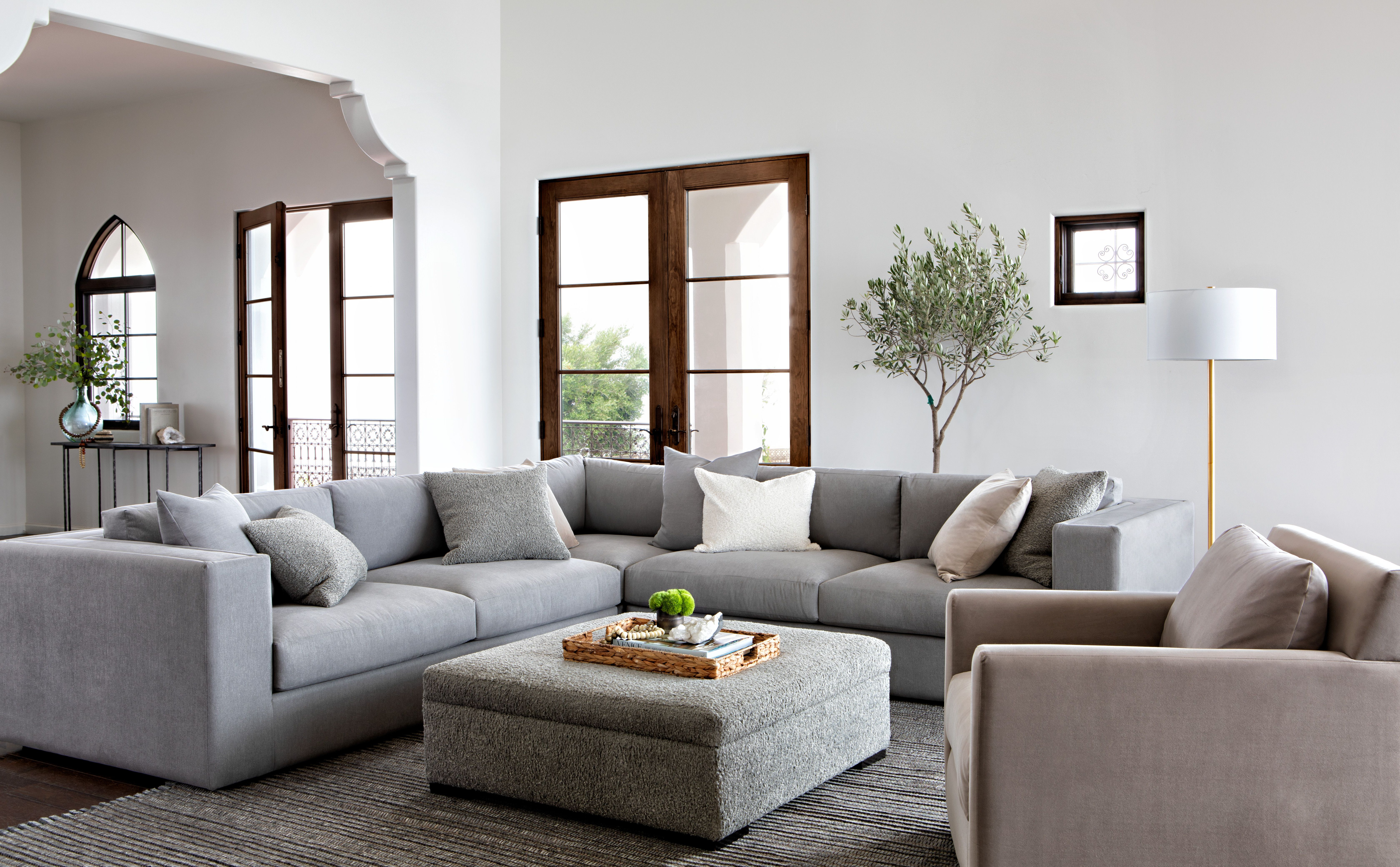 Whitley 3 Piece Sectionalnate Berkus And Jeremiah Brent | Nate + For Gwen Sofa Chairs By Nate Berkus And Jeremiah Brent (View 9 of 25)
