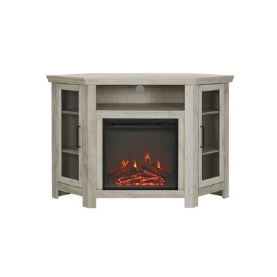 """Whittier Tv Stand For Tvs Up To 60"""" With Fireplace & Reviews (Image 25 of 25)"""